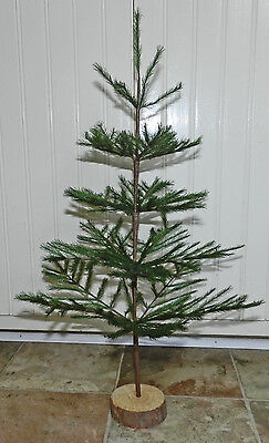 "New Green 21"" Faux German Feather Tree! Christmas! Limited Quantities! Retired!!"