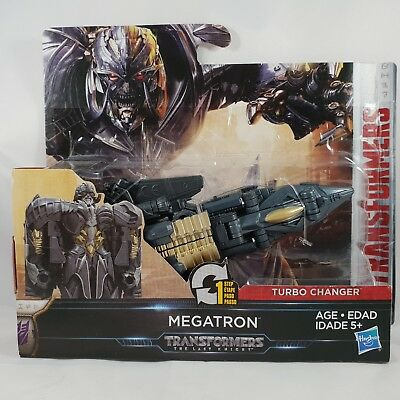 NEW Transformers The Last Knight 1-Step Turbo Changer Assorted Figures Hasbro