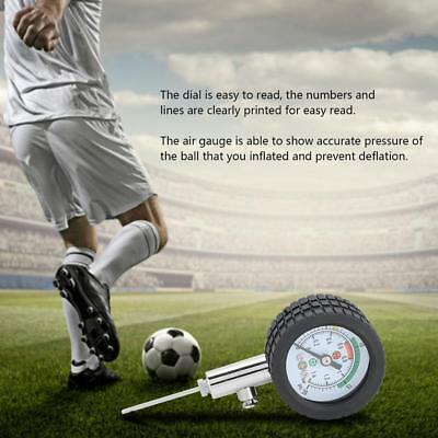 Dial Type Ball Pressure Gauge For Football Soccer Rugby Basketball Volleyball