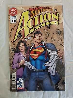 NEW DC Superman Action Comics #1000 NEW NM UNREAD 1990s Dan Jurgens variant