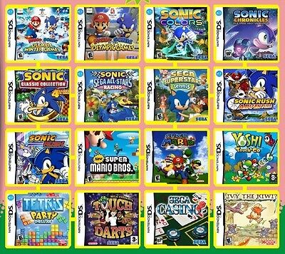 700 games in 1 package NINTENDO DS/Ds Lite/DSi/2DS/3DS XL G rating boy/girl mix