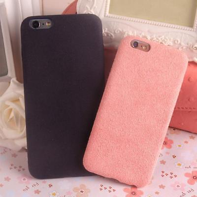Winter Phone Case Full Cover Flannel Material Shell for iPhone 7 / 8 Plus X Nice