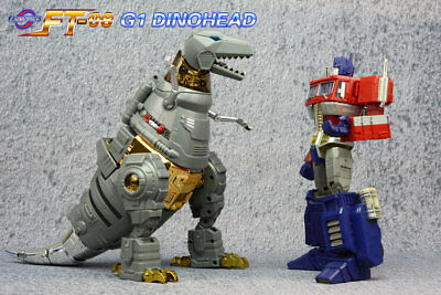 Transformers TOY Head Kit For FanToys FT-08 Grinder Grimlock G1 Dinohead New