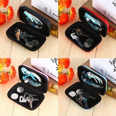 Portable Travel Storage Organizer Bag Case For USB Cable Earphone EVA Box Pouch