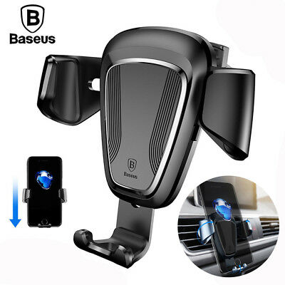 Baseus 360° Universal Gravity Car Air Vent Mount Cradle Holder for iPhone GPS