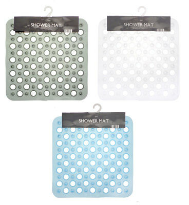An Anti-Slip Plastic Shower Mat Available in 3 Colours