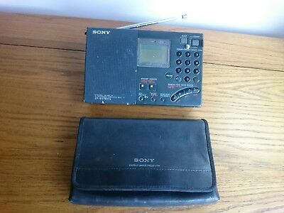 Sony ICF-SW7600G FM/LW/MW/SW With SSB World Band Shortwave Receiver Radio