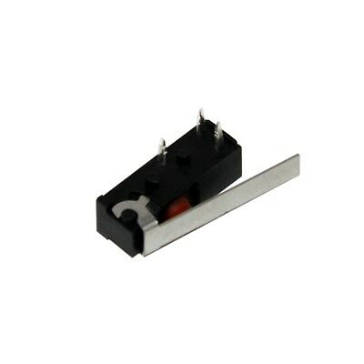 F1NST8A1 Microswitch with lever SPDT 1A/250VAC ON-ON 1-position SAIA-BURGESS