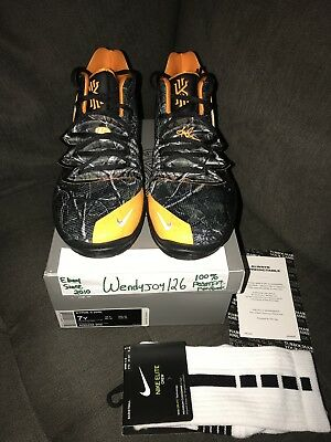 GRADE SCHOOL YOUTH Size Nike Kyrie Irving 5 PE Taco