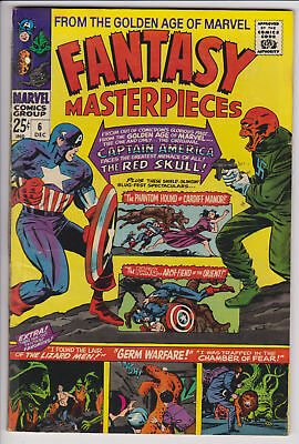 Fantasy Masterpieces 6 (Dec 1966) Marvel Comic GD/VG 50% off guide