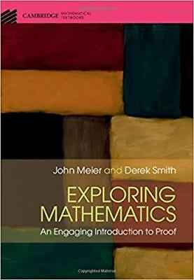 [PDF] Exploring Mathematics An Engaging Introduction to Proof 1st Edition by Joh