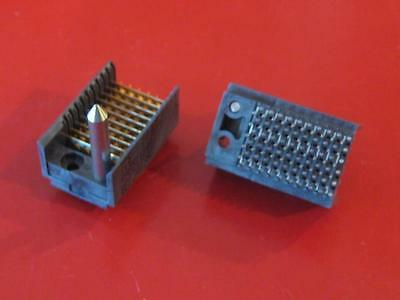 TERADYNE 498-5110-001 BACKPLANE MODULE 8-ROW CONNECTOR  ( Qty 2 ) ** NEW **