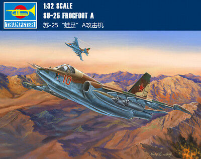 SU-25 FROGFOOT A 1/32 aircraft Trumpeter model plane kit 02276