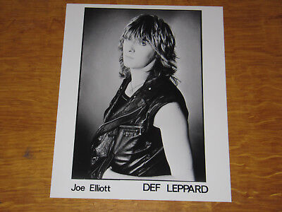 Def Leppard - Original Uk Promo Press Photo (A)