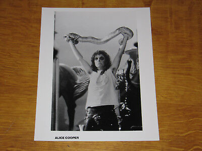 Alice Cooper - Original Uk Promo Press Photo (A)