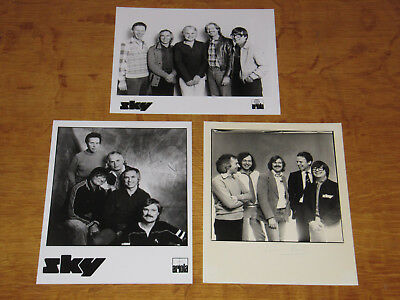 Sky - Original Uk Promo Press Photos (A)