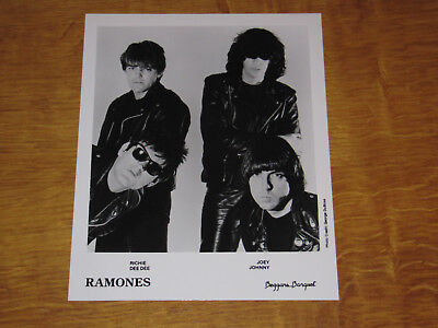 The Ramones - Original Uk Promo Press Photo (A)