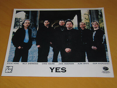 Yes - Original Uk Promo Press Photo (A)