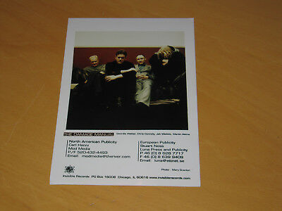 The Damage Manual (Jah Wobble) - Original Uk Promo Press Photo (X)
