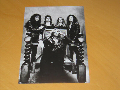 Saxon - Original Uk Promo Press Photo (X)