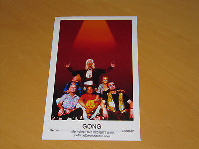 Gong - Original Uk Promo Press Photo (Z)