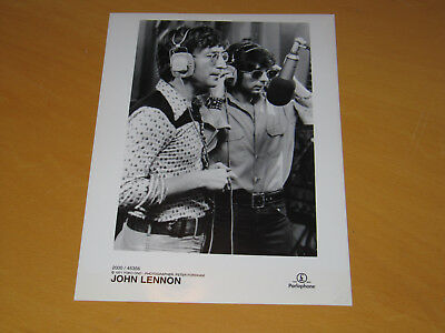 John Lennon - Original Uk Promo Press Photo (X)