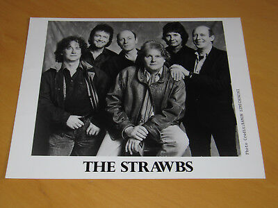 The Strawbs - Original Uk Promo Press Photo (A)