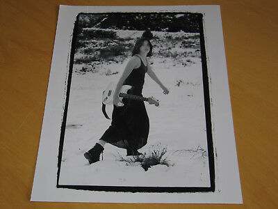 Michelle Shocked - Original Uk Promo Press Photo (B)