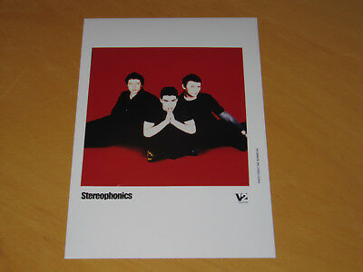 Stereophonics - Original Uk Promo Press Photo (X)