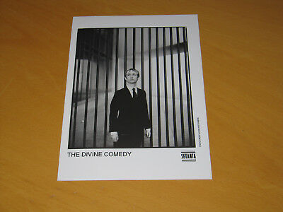 The Divine Comedy - Original Uk Promo Press Photo (X)