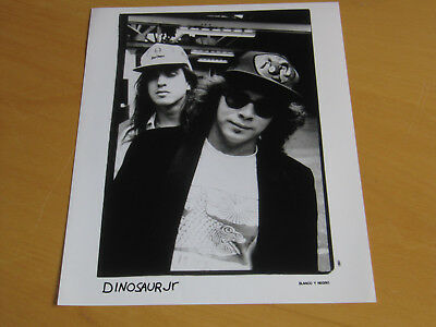 Dinosaur Jr - Original Uk Promo Press Photo (A)