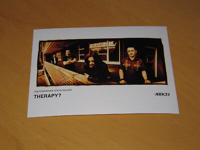 Therapy? - Original Uk Promo Press Photo (X)