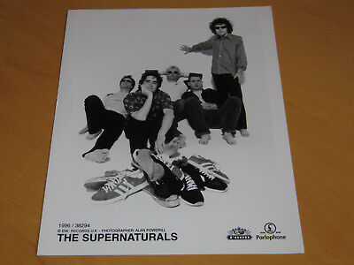 The Supernaturals - Original Uk Promo Press Photo (B)