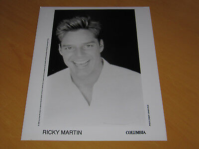 Ricky Martin - Original Uk Promo Press Photo (A)