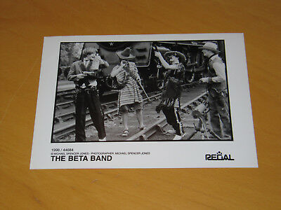 The Beta Band - Original Uk Promo Press Photo (X)