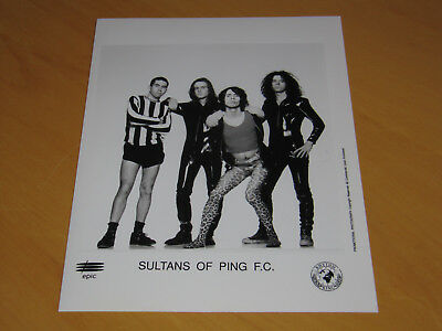 Sultans Of Ping F.c. - Original Uk Promo Press Photo (A)