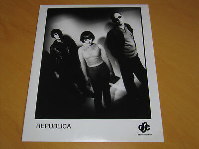 Republica - Original Uk Promo Press Photo (A)