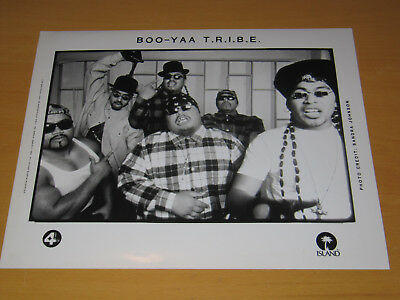 Boo Yaa Tribe T.r.i.b.e. - Original Uk Promo Press Photo (A)
