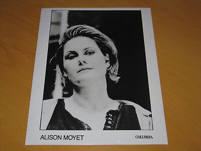 Alison Moyet - Original Uk Promo Press Photo (A)