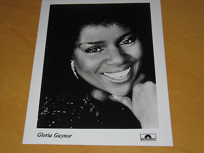 Gloria Gaynor - Original Uk Promo Press Photo (A)