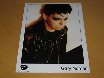 Gary Numan - Original Uk Promo Press Photo (A)