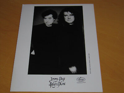 Robert Plant & Jimmy Page - Original Uk Promo Press Photo (A)