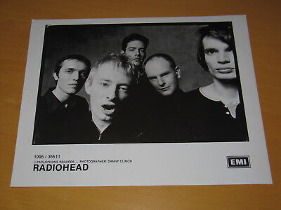 Radiohead - Original Uk Promo Press Photo (A)