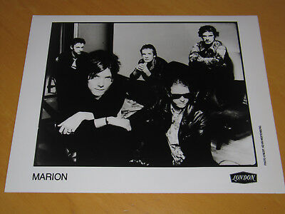 Marion - Original Uk Promo Press Photo (A)