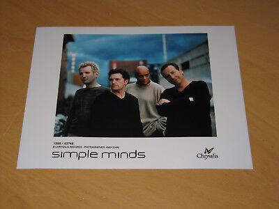 Simple Minds - Original Uk Promo Press Photo (Y)