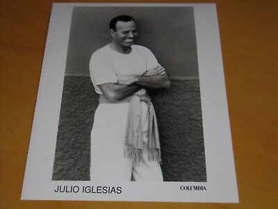 Julio Iglesias - Original Uk Promo Press Photo (A)