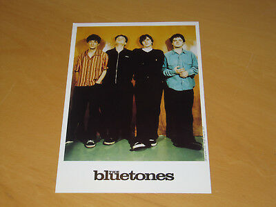 The Bluetones - Original Uk Promo Press Photo (X)