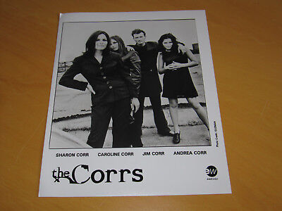 The Corrs - Original Uk Promo Press Photo (B)