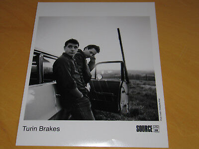 Turin Brakes - Original Uk Promo Press Photo (A)