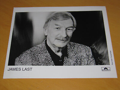 James Last - Original Uk Promo Press Photo (A)